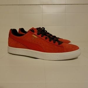 Puma Women's Clyde GCC Textured lace up